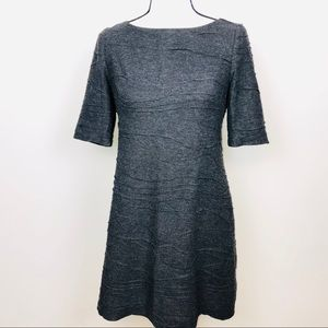 Adrianna Papell Texture wave dress